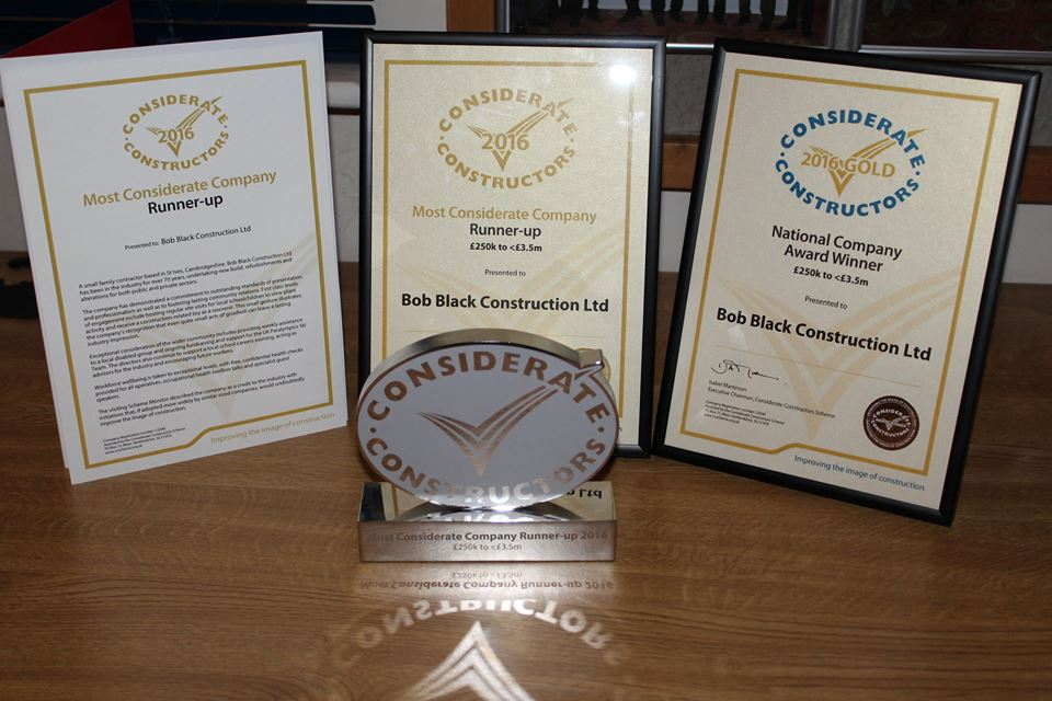 Local Builder Wins Gold at National Awards
