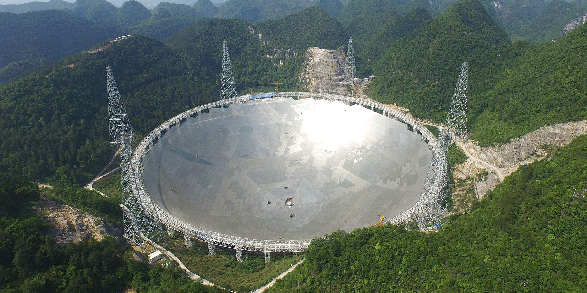 Radio Telescope in Guizhou Province