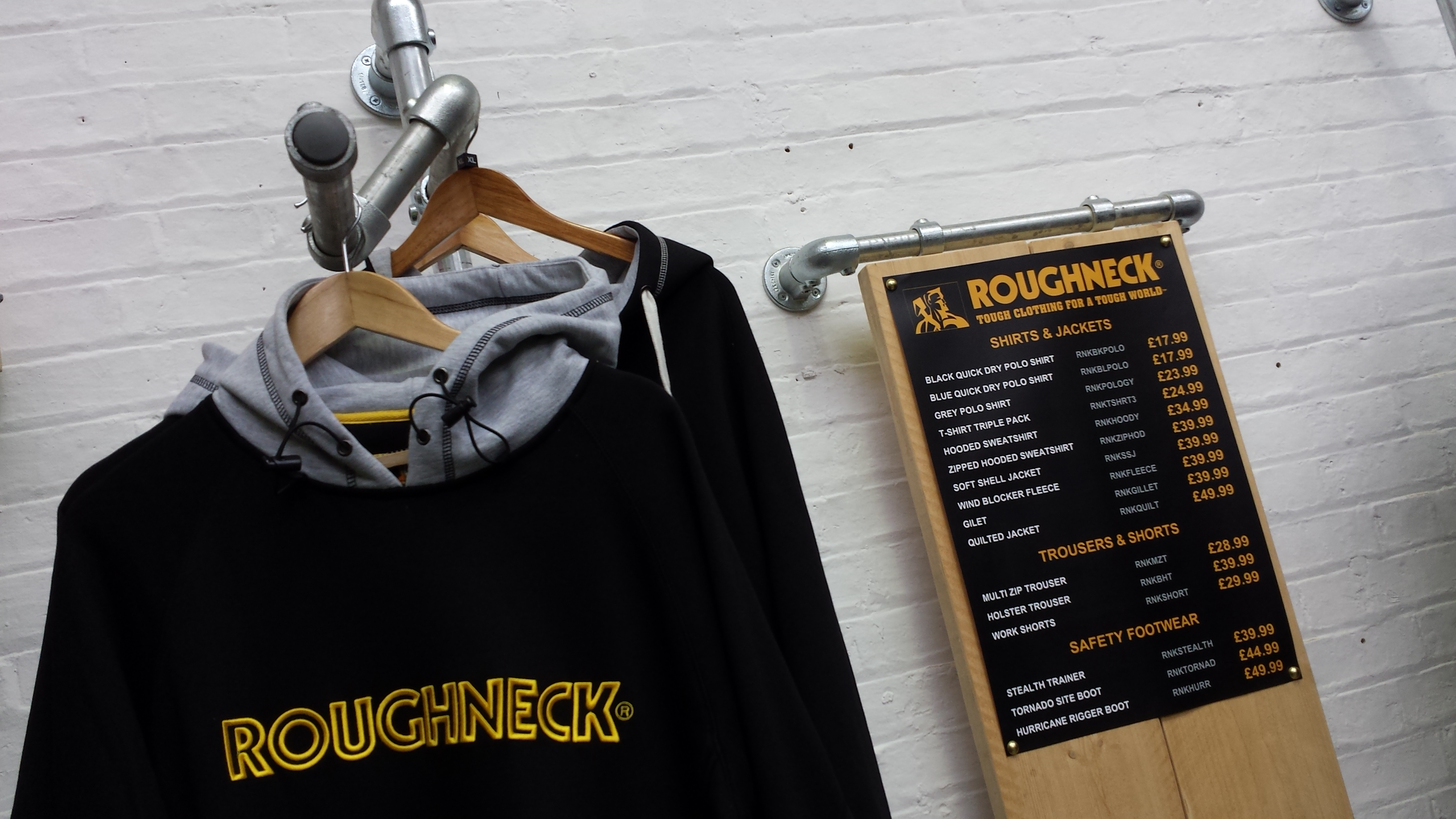 Roughneck - Our New Range of Workwear