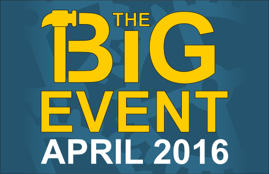 The Big Event - April 2016