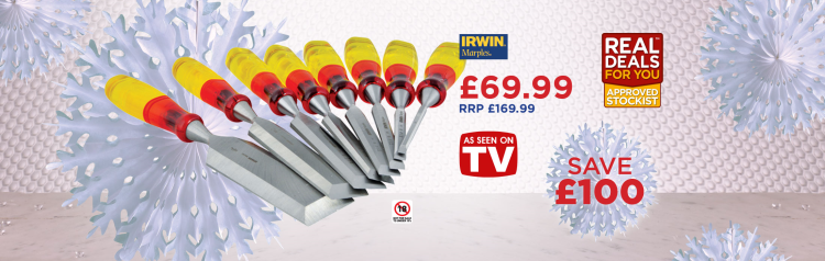 Irwin 8 Piece Splitproof Limited Edition Chisel Set - Real Deals For You 2016