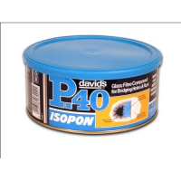 David's P40 (s/o) 189126 Isopon Gl.fibre Filler 1l