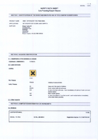 Material Safety Data Sheet for Draper 500ml Detergent for SWD1100A 28801 (ASVC16)