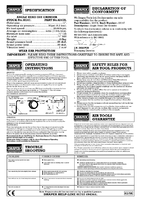 Instruction Manual for Draper Air Angle Die Grinder 38147 4247a