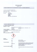 Material Safety Data Sheet for Draper 50ml Liquid Ptfe 38916 (Dlptfe)