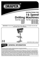 Instruction Manual for Porta-nails T Nails 38mm (1.1/2in) Box of 1000 42640