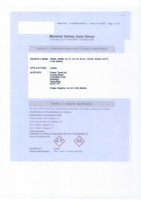 Material Safety Data Sheet for Draper Expert Green 37 Led Rechargeable Magnetic Inspection Lamp 43113 (Ril/37gr)