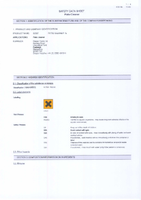 Material Safety Data Sheet for Draper 1l Patio Cleaner 52597 Pwpc1a
