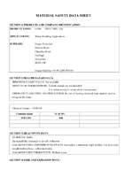 Material Safety Data Sheet for Draper 12m Ptfe Plumbing Tape Roll 63389 Tp-ptfe