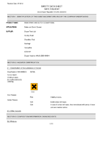 Material Safety Data Sheet for Draper 500ml 'Hard Graft' Brake And Clutch Cleaner 65000 (Hgbcc-500ml)