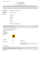 Material Safety Data Sheet for Draper 5l 'Hard Graft' Brake And Clutch Cleaner 65002 (Hgbcc-5l)