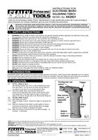 Instruction Manual for Sealey Ak2931 Electronic Micro Soldering Torch