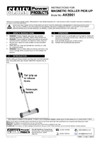 Instruction Manual for Sealey Ak5961 Magnetic Roller Pick-up