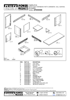 Parts List for Sealey AP2030BB Workbench with 5 Drawers Ball Bearing Runners Heavy-Duty