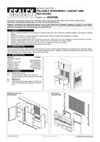 Instruction Manual for Sealey Ap20fwb Foldable Workstation With Cupboards
