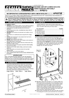 Instruction Manual for Sealey AP6572E Heavy-duty Racking Extension Pack With 4 Mesh Shelves 800kg Capacity Per Level