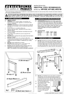Instruction Manual for Sealey API13 Shelf for APIBP2100
