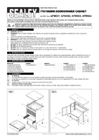 Instruction Manual for Sealey Apms03 Modular Floor Cabinet 6 Drawer 775mm Heavy-duty