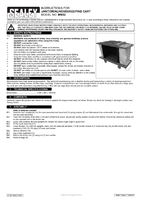 Instruction Manual for Sealey Bm32 Janitorial/housekeeping Cart