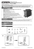 Instruction Manual for Sealey Bm33 Janitorial/housekeeping Cart