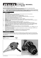 Instruction Manual for Sealey Bsl104 Cvj Boot Tool - Mechanical