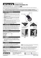 Instruction Manual for Sealey Cm4 Corner Movers 4pc