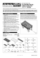 Instruction Manual for Sealey Cst806 Platform Truck With Sides Pneumatic Tyres 450kg Capacity