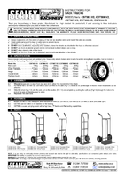 Instruction Manual for Sealey CST983 Sack Truck with Solid Tyres 150kg Capacity