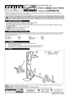 Instruction Manual for Sealey CST985 Sack Truck Stair Climbing 150kg Capacity
