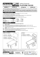 Instruction Manual for Sealey CST993 Platform Truck 250kg Capacity Heavy-Duty