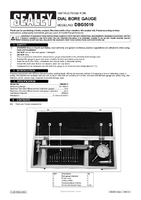 Instruction Manual for Sealey Dbg5010 Dial Bore Gauge