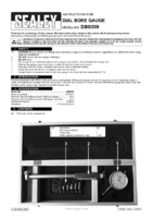 Instruction Manual for Sealey Dbg509 Dial Bore Gauge 35-50mm