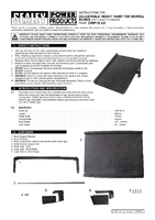 Instruction Manual for Sealey DRP15 Adjustable Height Ramp for Barrel Bunds & Kerbs
