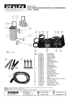 Parts List for Sealey Ecs650 Electronic Charger Starter 100/650a 12/24v