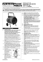 Instruction Manual for Sealey Eh30001 Industrial Fan Heater 30kw