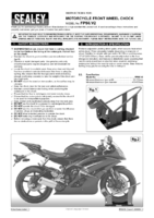 Instruction Manual for Sealey Fps6 Motorcycle Front Wheel Chock