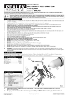 Instruction Manual for Sealey Hvlp01 Hvlp Gravity Feed Spray Gun 1.4mm Set-up