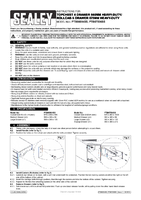 Instruction Manual for Sealey Ptb67506ss Rollcab 6 Drawer 675mm Stainless Steel Heavy-duty