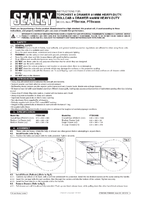 Instruction Manual for Sealey Ptb93006 Rollcab 6 Drawer 930mm Heavy-duty