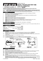 Instruction Manual for Sealey Sa393 Digital Tyre Inflator With Twin Push-on Connector