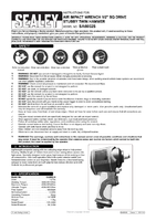 Instruction Manual for Sealey Sa6002s Air Impact Wrench 1/2