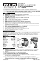 Instruction Manual for Sealey Sa6006 Composite Air Impact Wrench 1/2