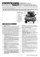 Instruction Manual for Sealey SAC2103B Compressor 100ltr Belt Drive 3hp with Cast Cylinders & Wheels