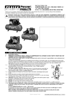 Instruction Manual for Sealey SAC62710B Compressor 270ltr Belt Drive 10hp 3ph 2-Stage with Cast Cylinders