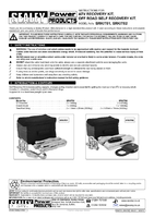 Instruction Manual for Sealey Srkit02 Off Road Self Recovery Kit