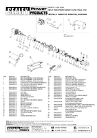 Parts List for Sealey Srw5450 Self Recovery Winch 5450kg Line Pull 12v