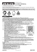 Instruction Manual for Sealey St80 Soldering Station 80w
