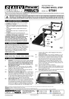 Instruction Manual for Sealey Sts01 Folding Wheel Step
