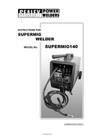 Instruction Manual for Sealey SUPERMIG140 MIG Welder 140Amp 230V