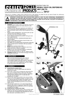 Instruction Manual for Sealey TP17 Gear Oil Dispensing Unit 20ltr Mobile